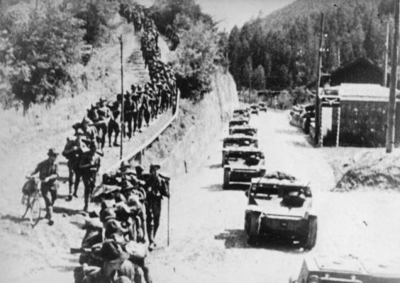 Italians-invade-Ethiopia