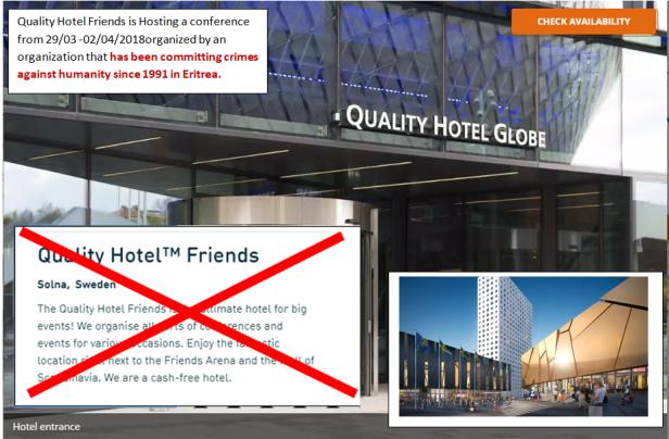 quality hotel boycott