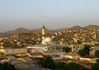 grand mosque of keren
