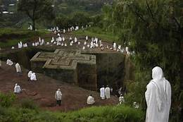 Lalibela  Monolitic Church