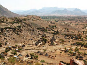 Megarih Village, the historical village of Bilen people